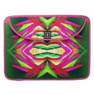 """Macbook Pro 15"""" with Abstract Flower Design MacBook Pro Sleeves"""