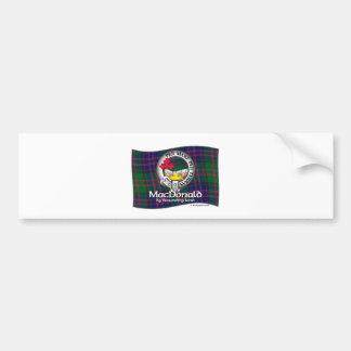 MacDonald Clan Bumper Sticker