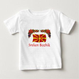 Macedonia Christmas Baby T-Shirt