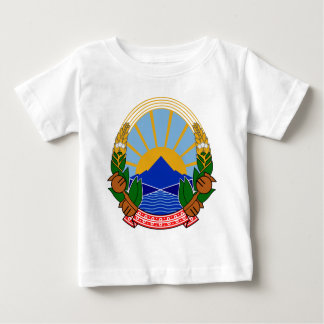 Macedonia Coat of Arms Baby T-Shirt