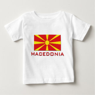 Macedonia Flag 1 Baby T-Shirt