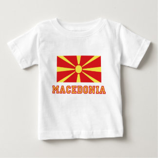 Macedonia Flag 2 Baby T-Shirt