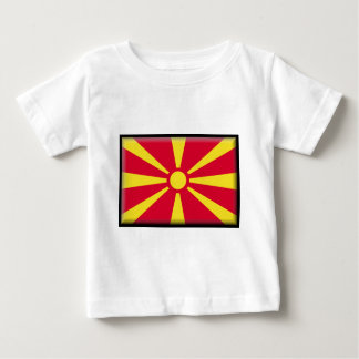 Macedonia Flag Baby T-Shirt