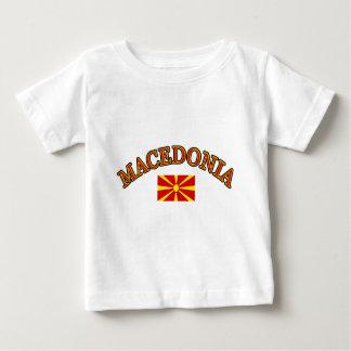Macedonia football design baby T-Shirt