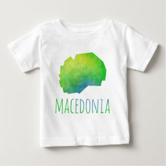 Macedonia Map Baby T-Shirt