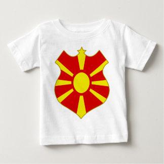 Macedonia-shield.png Baby T-Shirt