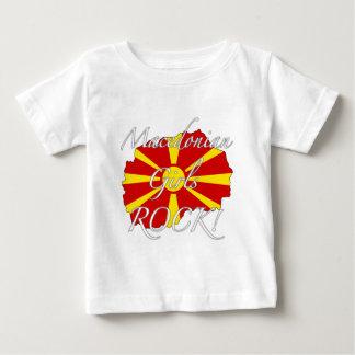 Macedonian Girls Rock! Baby T-Shirt
