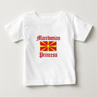 Macedonian Princess Baby T-Shirt