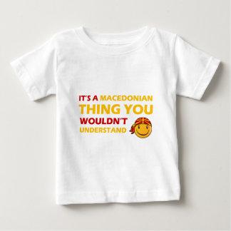 MACEDONIAN smiley design Baby T-Shirt