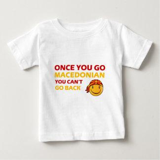 Macedonian Smiley Designs Baby T-Shirt