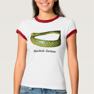 Machete Savane Ladies Ringer T T-Shirt
