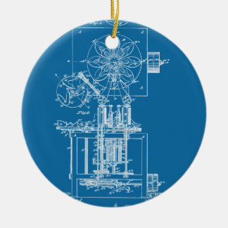 Machine for Pasting Shoes  - Maria Beasley, Invent Christmas Ornament