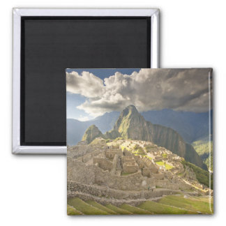 Machu Picchu, ancient ruins, UNESCO world 2 Magnet