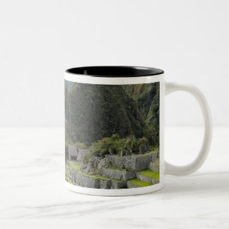 Machu Picchu, ruins of Inca city, Peru. 2 Two-Tone Coffee Mug