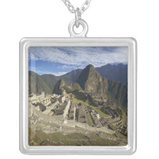Machu Picchu, UNESCO World Heritage Site, Aguas Silver Plated Necklace