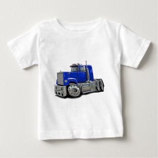 Mack Superliner Blue Truck Baby T-Shirt