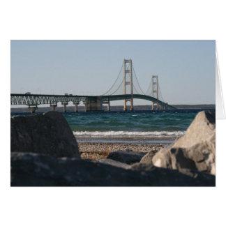 Mackinac Bridge Notecard