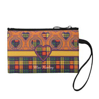 MacKinley clan Plaid Scottish kilt tartan Coin Purse
