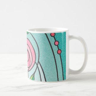 Mackintosh Rose Basic White Mug