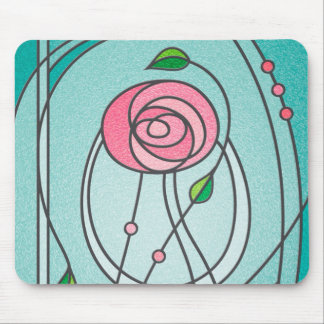 Mackintosh Rose Mouse Pad