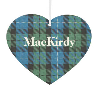 MacKirdy Tartan Plaid Air Freshener