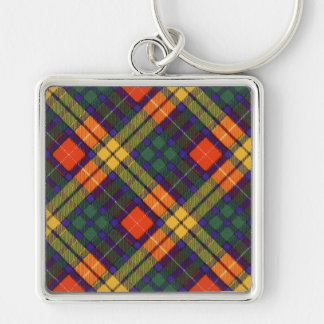 MacLea clan Plaid Scottish kilt tartan Key Ring