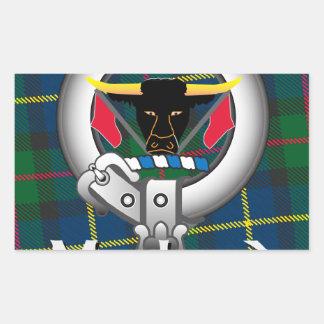 MacLeod Clan Rectangular Sticker