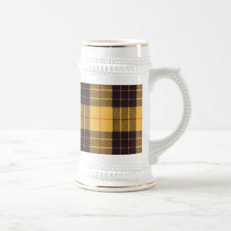 Macleod of Lewis & Ramsay Plaid Scottish tartan Beer Stein
