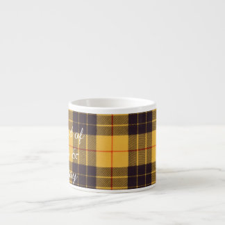 Macleod of Lewis & Ramsay Plaid Scottish tartan Espresso Cup