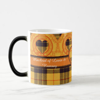 Macleod of Lewis & Ramsay Plaid Scottish tartan Magic Mug