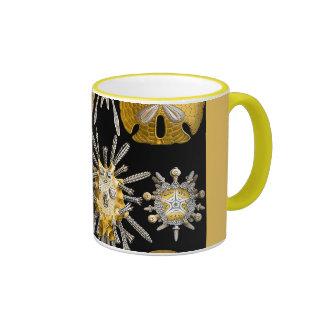 Macro Sea Creatures Sea Urchins Ringer Mug