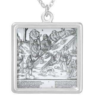 MacSweeney's Feast Silver Plated Necklace