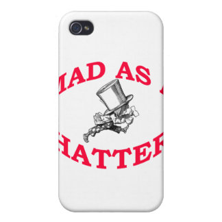 Mad As A Her iPhone 4 Cases