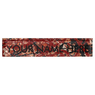 MAD DASH (an abstract art design) ~ Nameplate