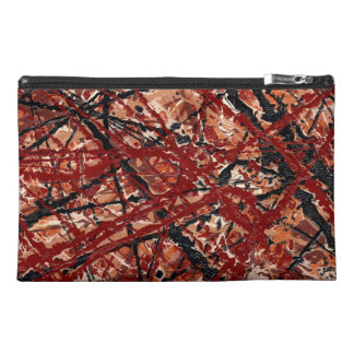 MAD DASH (an abstract art design) ~ Travel Accessory Bags
