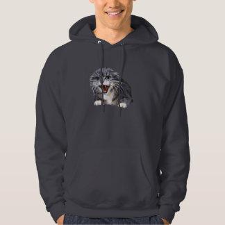 Mad Gray Cat Sweatshirt