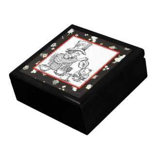 Mad Hatter and Dormouse Gift Box