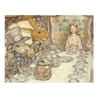 Mad Hatters Tea Party Post Cards