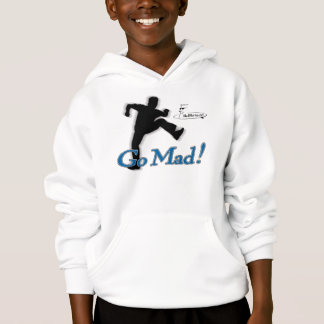 "Mad Marty ""Go Mad!"" Hooded Sweater"