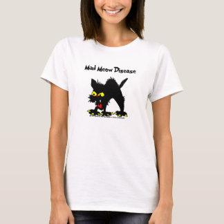 Mad Meow Disease Ladies Shirt
