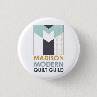 Mad Mod Quilt Guild Flair 3 Cm Round Badge