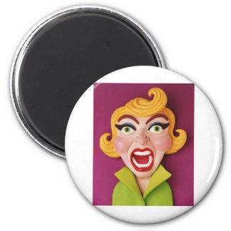Mad Mom 6 Cm Round Magnet