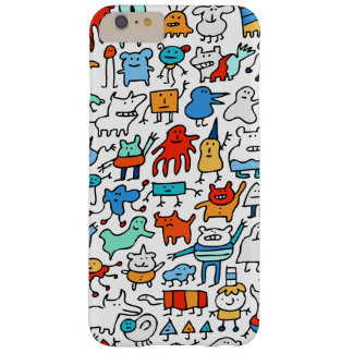 Mad Monster Friends iPhone 6/6s Plus Case