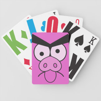 Mad Pig playing cards