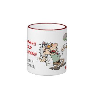 Mad Scientist Ringer Coffee Mug