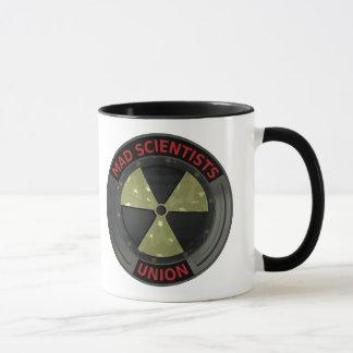 Mad Scientist Union Logo with Radioactive symbol