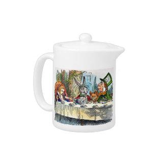 Mad Tea Party teapot