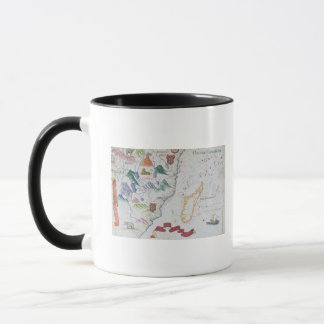 Madagascar and East African Coastline Mug