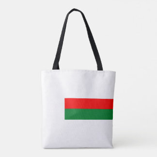 Madagascar country long flag nation symbol republi tote bag