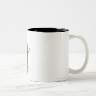Madagascar ground gecko (Paroedura pictus) on Two-Tone Coffee Mug